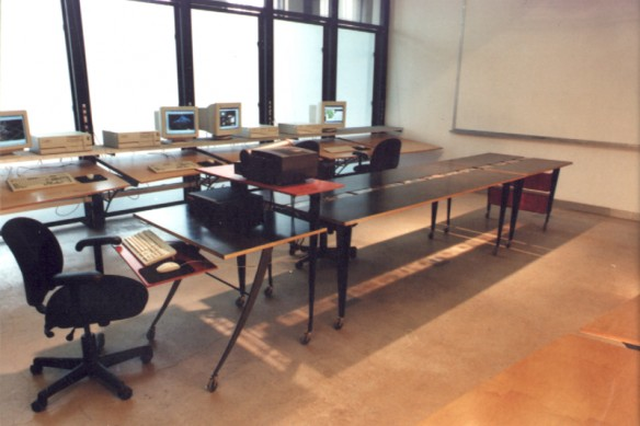 3 part Computer Lab Table